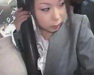 Young Officegirl Groped By Black Stranger - scene 3
