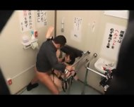 Bound And Fucked On Public Toilet 1 - scene 11