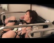 Bound And Fucked On Public Toilet 1 - scene 2