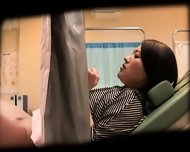 Schoolgirl Tricked By Gynecologist - scene 1
