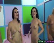 Pornstars Share Cock - scene 9