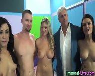 Pornstars Share Cock - scene 12