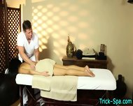 Asian Babe Gets Massaged - scene 9