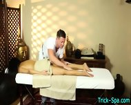Asian Babe Gets Massaged - scene 12
