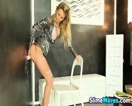 Glam Euro Babe Gets Wam - scene 12