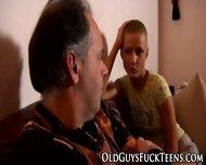 Teen Facial From Elder - scene 3
