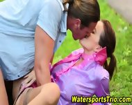 Outdoor Goldenshower Fuck - scene 11