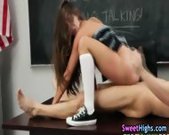 Cumswallow Classroom Teen - scene 5