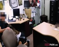 Big Butt Amateur Babe Fucked By Pawn Man At The Pawnshop - scene 5