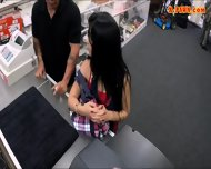 Cuban Chick Sells Her Tv Sells Her Pussy At The Pawnshop - scene 2