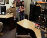 Cuban Chick Sells Her Tv Sells Her Pussy At The Pawnshop - scene 6