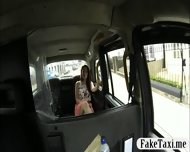 Busty Amateur Customer Drilled In The Backseat For Free - scene 1