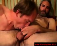 Straight Convict Being Throatfucked - scene 1