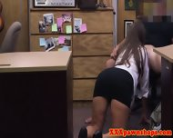 Pawnshop Voyeur Sucking Cock For Cash - scene 4