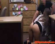 Pawnshop Voyeur Sucking Cock For Cash - scene 5