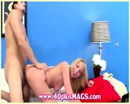 57yo Horny Blonde Milf Milena - scene 8