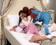 Cute Babes Caress On Cam - scene 4