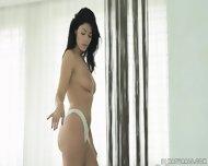 Glamorous Brunette Enjoys Sensual Sex - scene 2