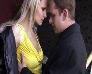 Elegant Blonde Likes Cock Riding - scene 2