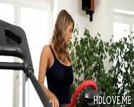 Sexy Babes Lusty Pussy Workout - scene 1