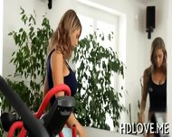 Sexy Babes Lusty Pussy Workout - scene 2
