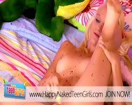 Blonde Cutie Orgasming In Her Room - scene 9