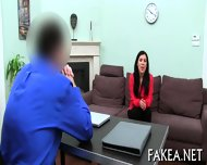 Sizzling Hot Job Interview - scene 1