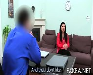 Sizzling Hot Job Interview - scene 12
