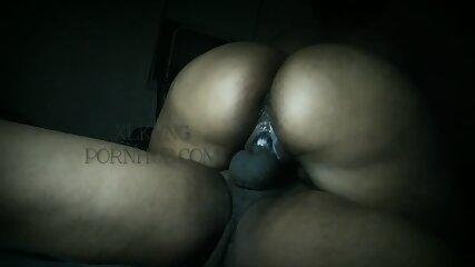 Thick Booty Ebony Teacher Riding Her BBC Student Hard & Cums Hard