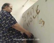 Real Prostitute Blowjob In Toilet - scene 3