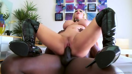 Big Titty Blonde Rammed Hard By Black Dick - scene 8