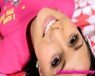 Horny Brunette Teen Slut Brenda - scene 2