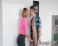 Amorous And Explicit Threesome - scene 3