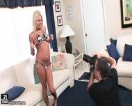 Hot Blonde Loves Taste Of Dick - scene 1