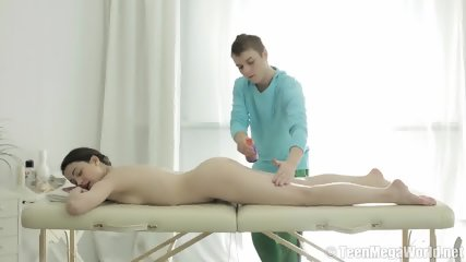 Innocent Babe Gets Internal Massage - scene 2