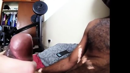 Real Housewife Sucking And Jerking African Cock - scene 12