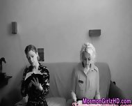 Cit Rubbing Lesbian Rubs - scene 1