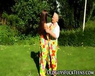 Teen Pounds Elders Cock - scene 3