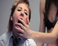 Neverending Strap-on Girl4girl Action - scene 10