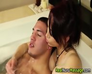 Nuru Masseuse Ass Cumshot - scene 5