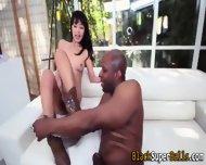 Asian Ho Rides Black Cock - scene 11