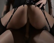 Tatto Lezzies Enjoying Havingsex With Strap On - scene 9