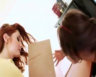 Teacher And Her Attractive Anal Lesbian - scene 5