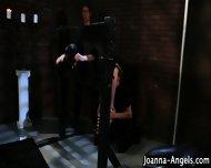 Goth Gets Bdsm Threeway - scene 2