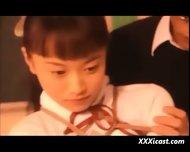 Asian Teen Schoolgirl Water And Rope Bondage - scene 9