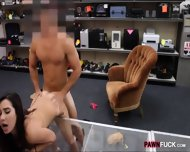 Amateur College Gal Bent Over And Fucked By The Pawnkeeper - scene 5
