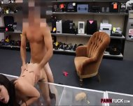 Amateur College Gal Bent Over And Fucked By The Pawnkeeper - scene 6