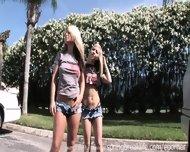 Topless Jumping Jacks - scene 7