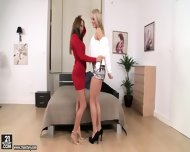 Lucky Guy And Two Awesome Blondes - scene 1