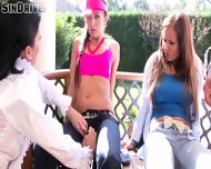 Three Bitches Love Pissing - scene 4
